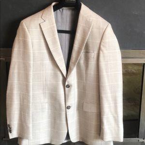 Hugo Boss Wool/Linen Blend Sportscoat Sz 42R